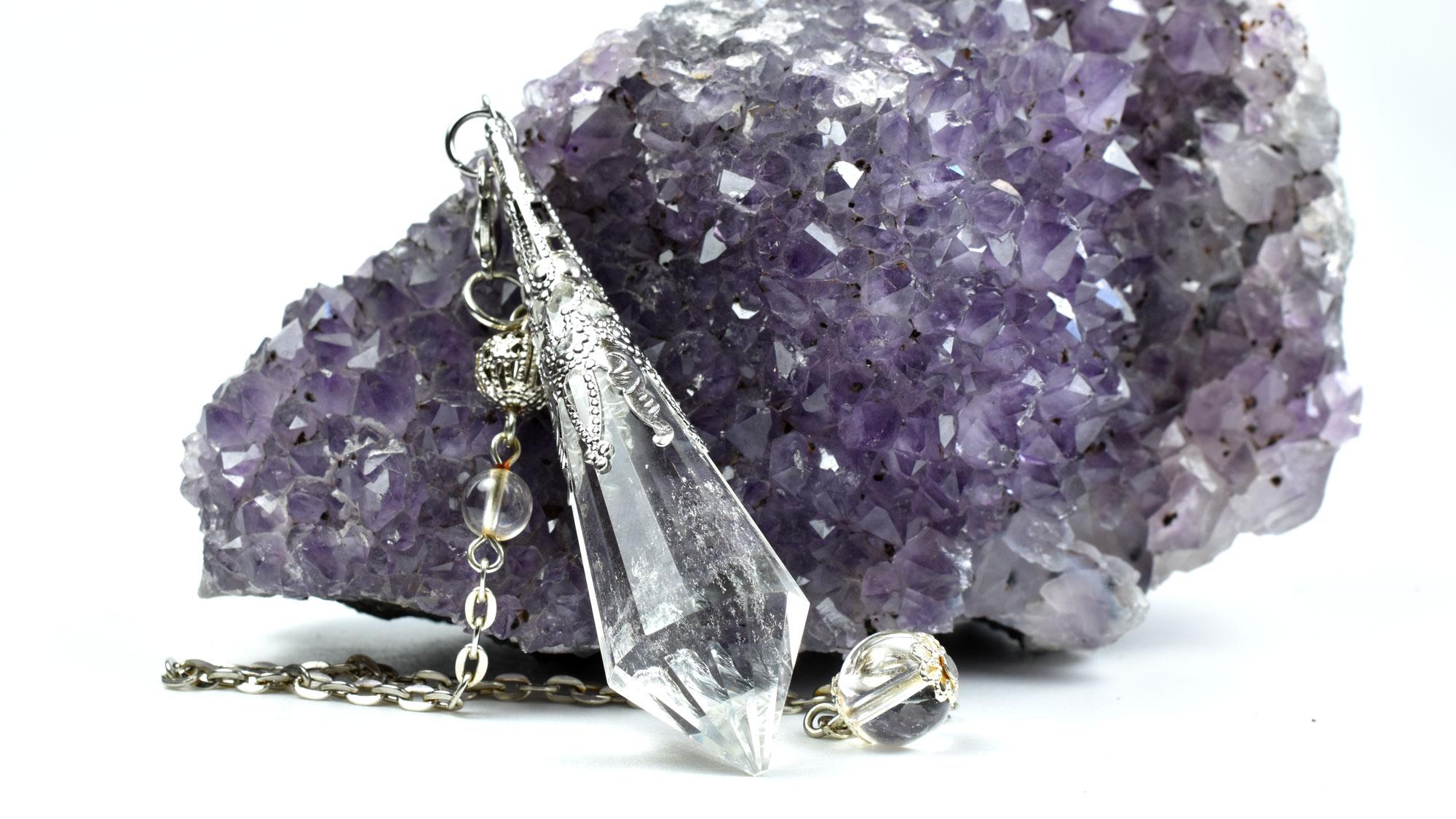 Pendul Cristal de Cuarț