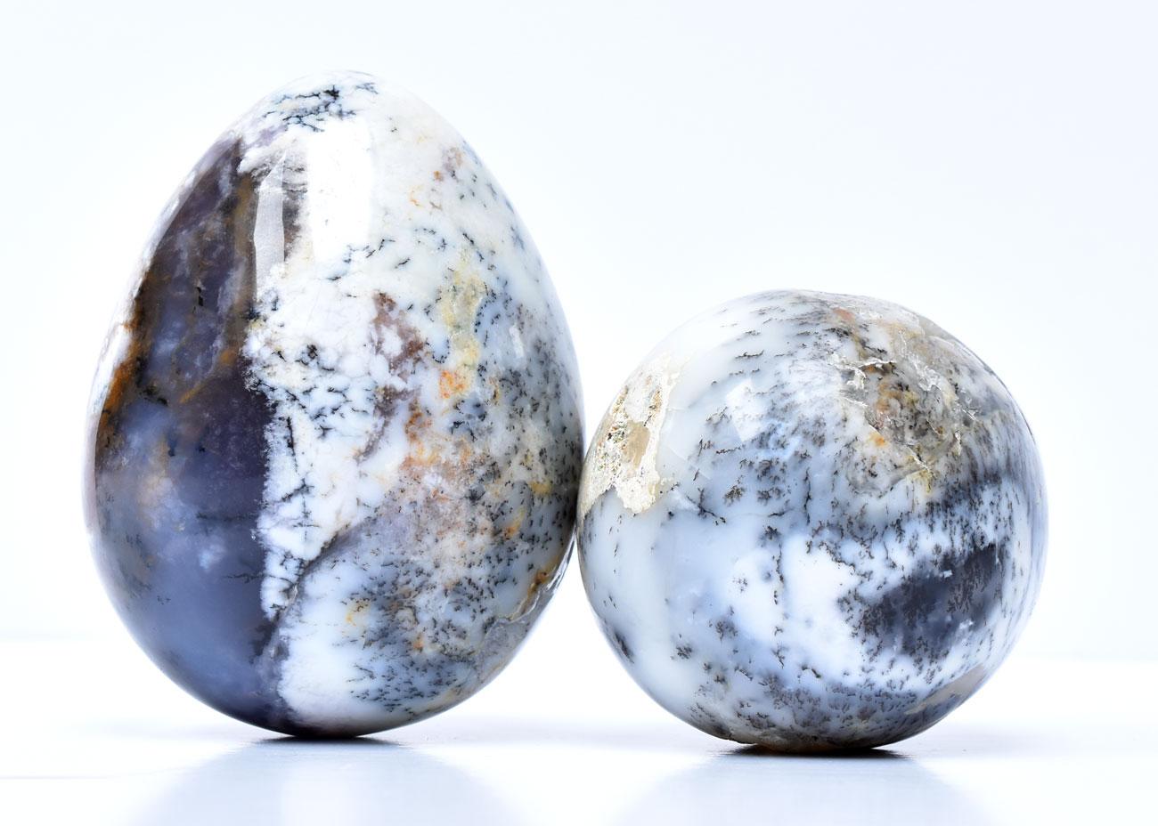 Ouă Opal Dendritic Merlinit de vânzare