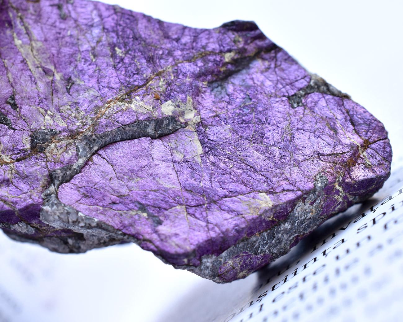Colecţie cristale de purpurit din Namibia de vânzare