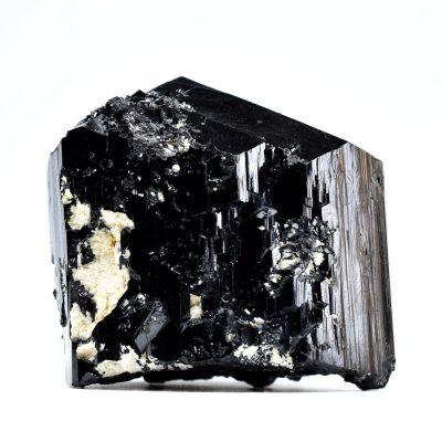 Cristal de Turmalină cu Feldspat